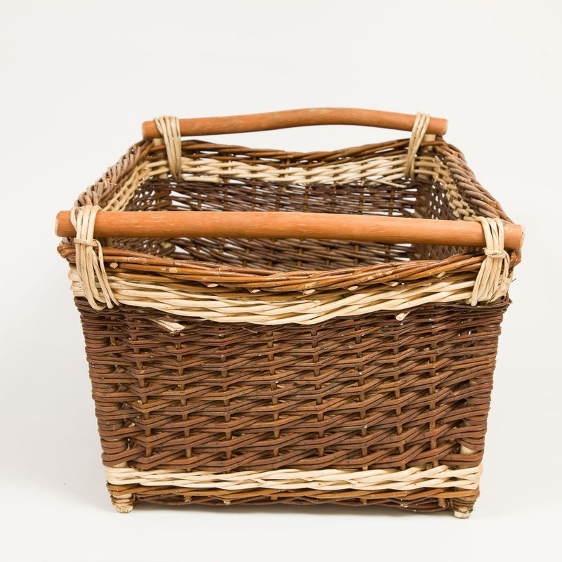 General Store Basket - Handmade Willow Basket
