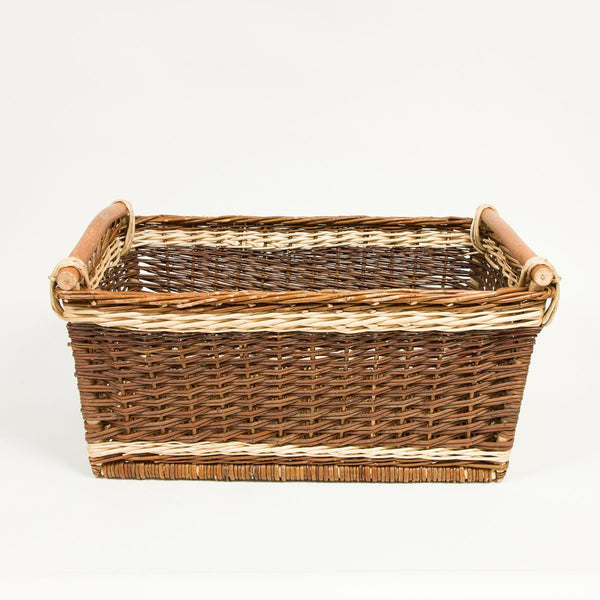 Handmade Willow Baskets - General Store Basket | Buy online from Travelling Basket