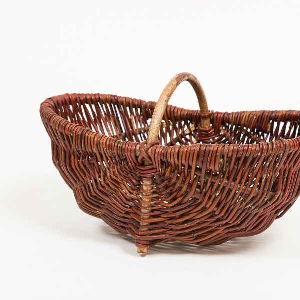 Little Footed Trug - Handmade Willow Basket