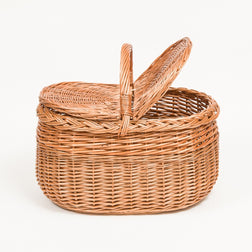 Picnic Basket - Handmade Willow Basket