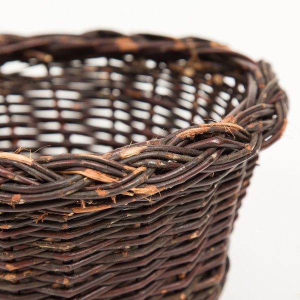 Plain Pot Basket - Handmade Willow Basket