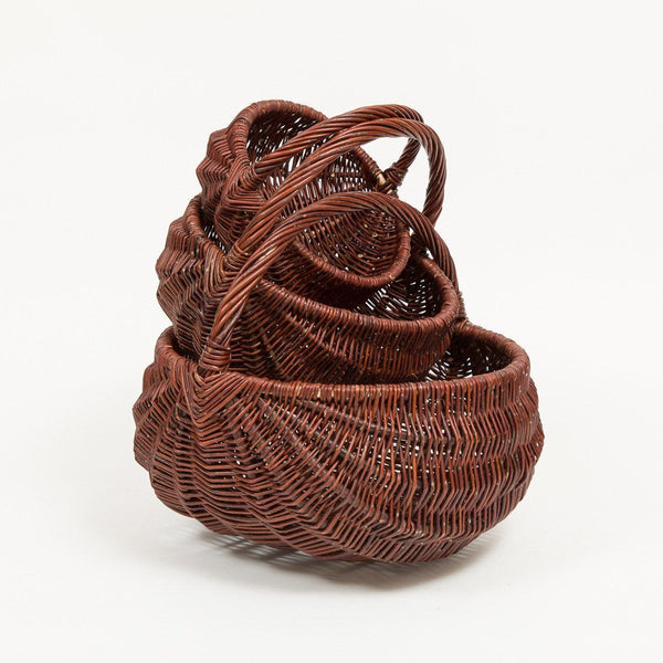 Triangle Handled Frame Basket - Handmade Willow Basket