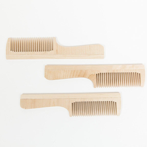 Wooden Comb - Wooden - shop online uk | Travelling Basket