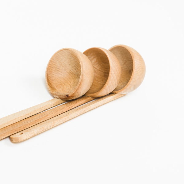 Wooden Ladle - Wooden - shop online uk | Travelling Basket