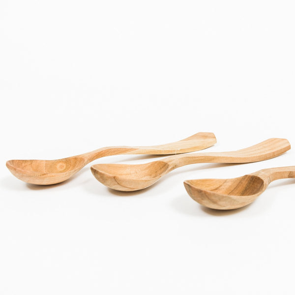 Wooden Serving Spoon - Wooden - shop online uk | Travelling Basket