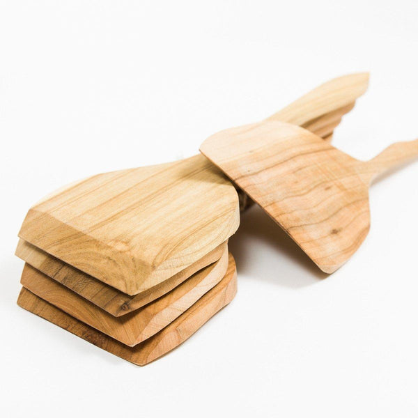 Wooden Spatula - Wooden - shop online uk | Travelling Basket