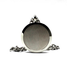 stainless steel locket diffuser necklace