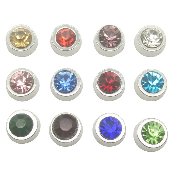 12 Month Birthstones Floating Charms