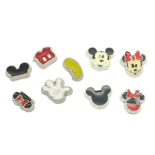 Mickey Mouse Floating Charms