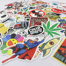 skateboard luggage sticker car decor