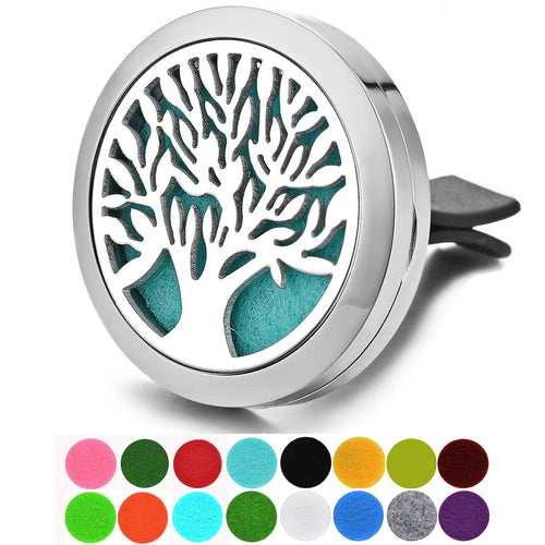 Dotiow Essential Oil Diffuser For Car Tree of Life