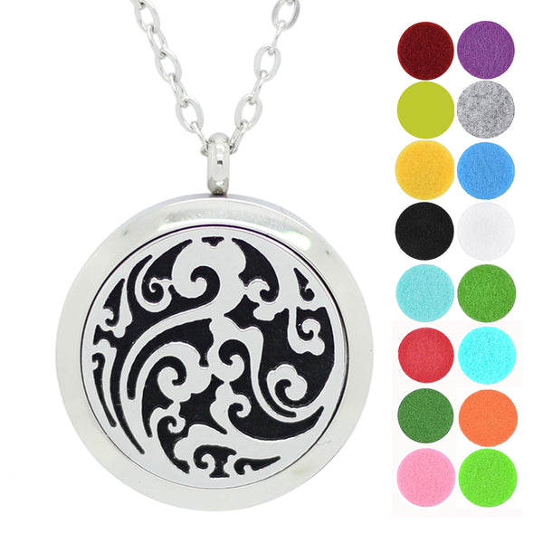 dotiow 316l-stainless-steel-diffuser-locket-necklace
