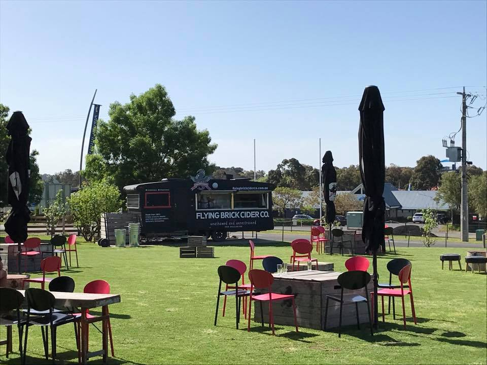 Flying Brick onsite Food Van | Bellarine Peninsula