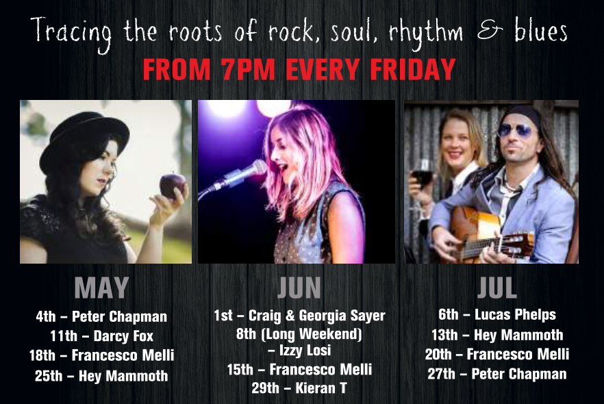 Friday night Roots - Live Music Bellarine Peninsula