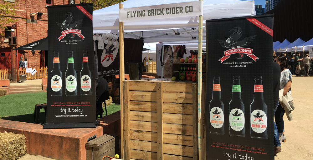 Flying Brick cider Trade enquiries - Bellarine Peninsula Cider House