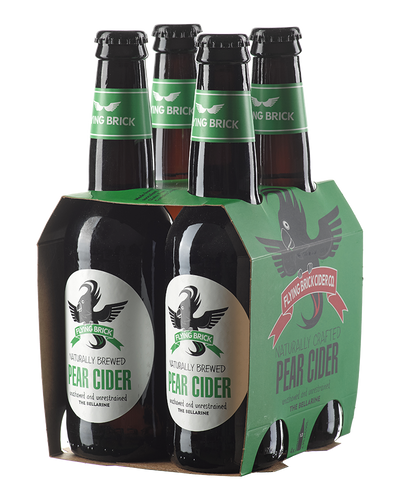 Flying Brick Pear Cider Bottles