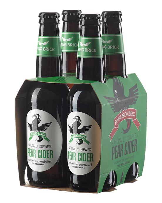 Flying Brick Pear Cider