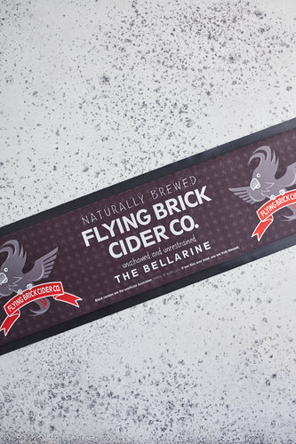 Flying Brick Bar Mat