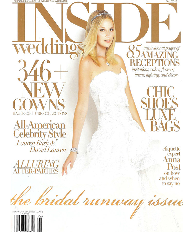 Inside Weddings<br>December 2012