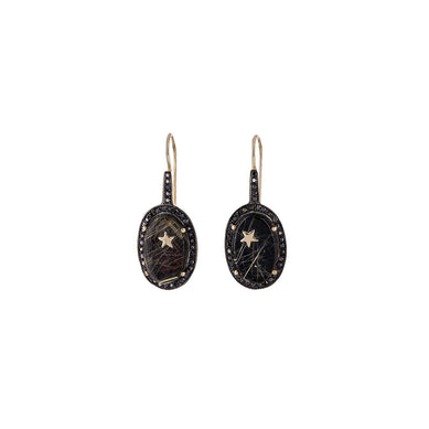 Mini Onyx Zenith Earrings