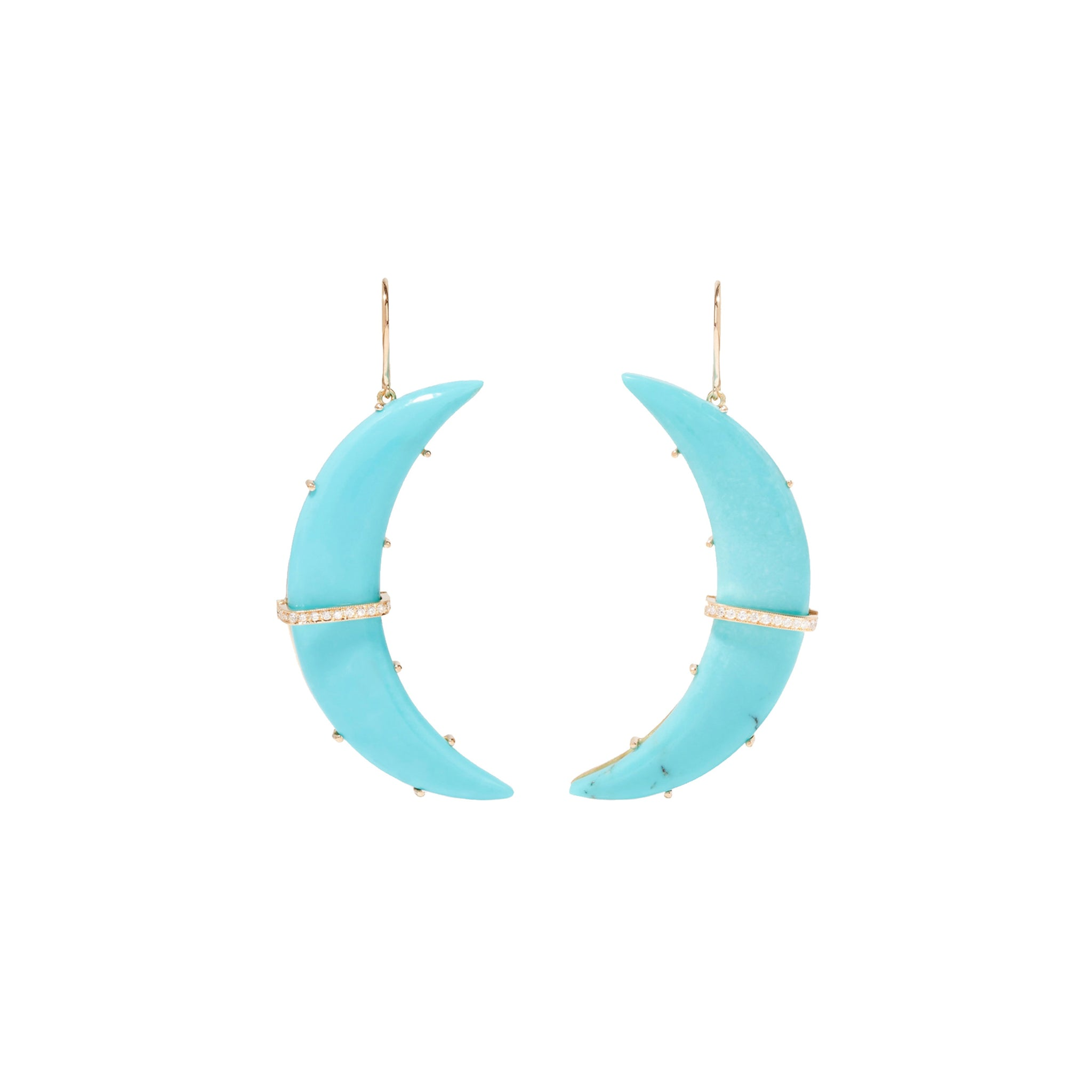 Large Turquoise Astrid Earrings