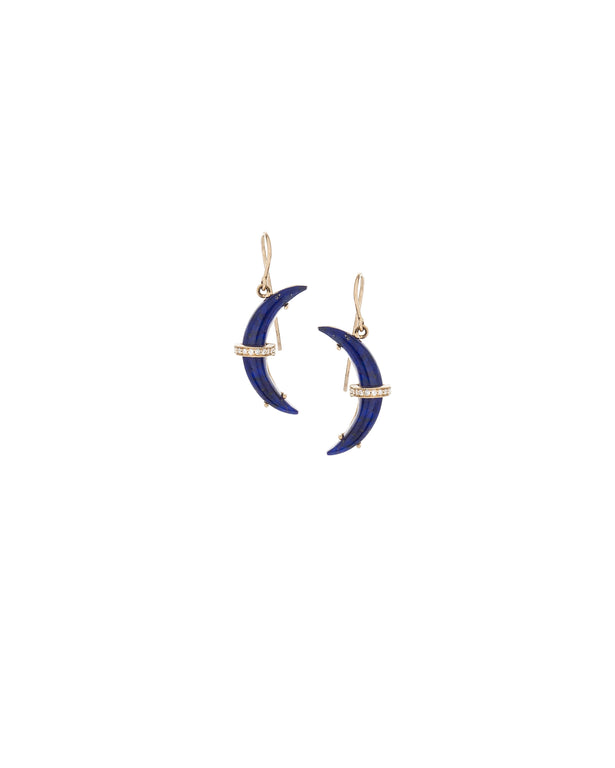 Small Lapis Astrid Earrings
