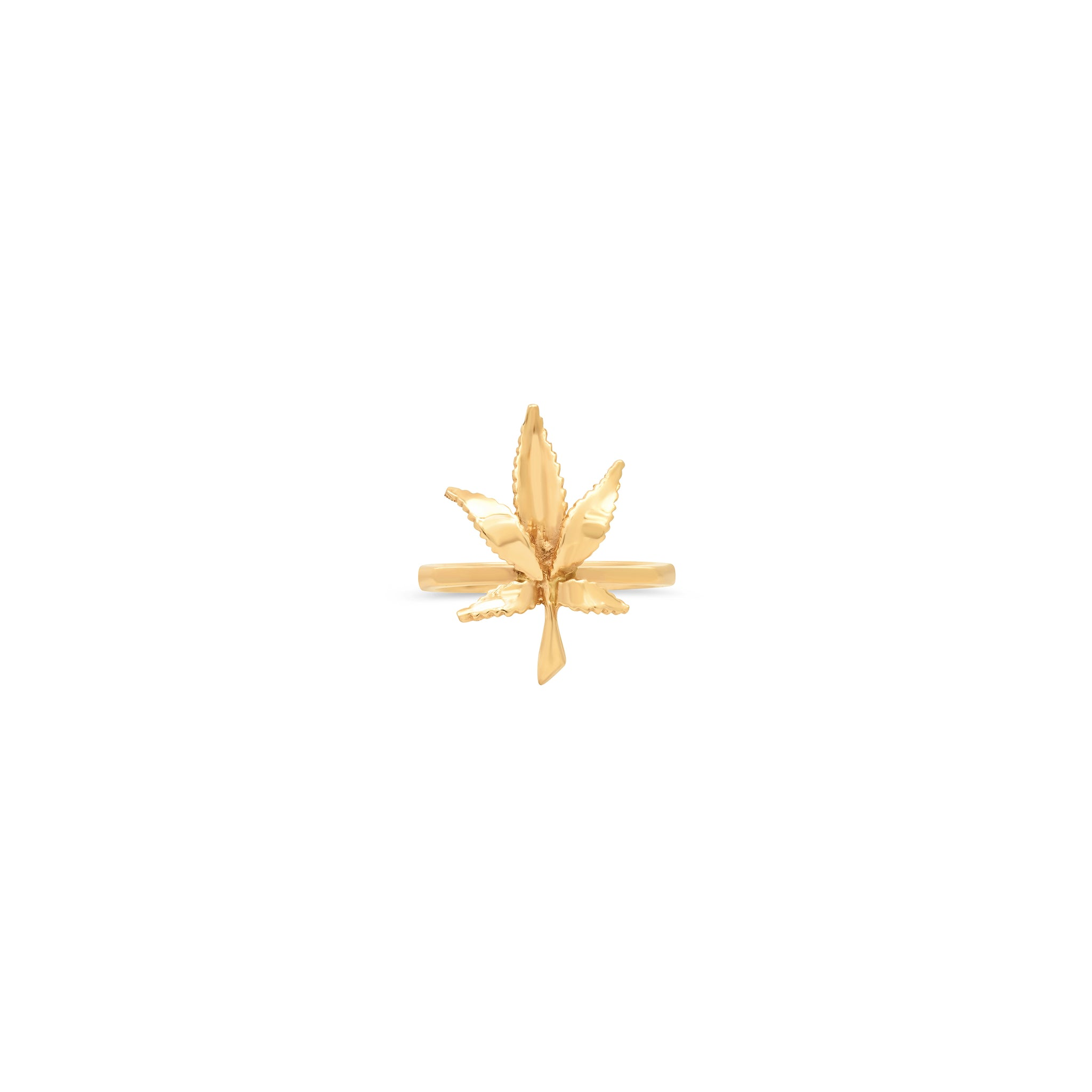 Mary Jane Small Leaf Ring