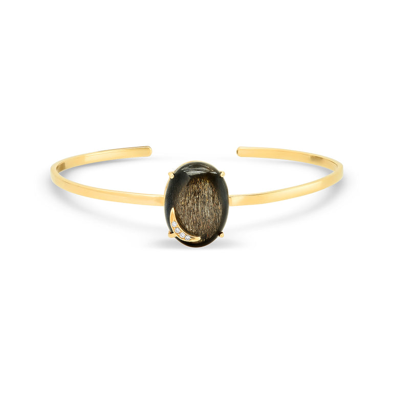 Hypersteen Moonstone Bangle