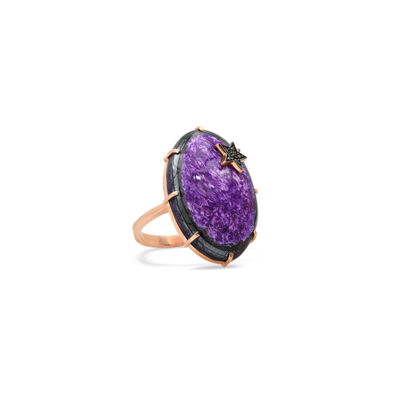 One of a Kind Sugalite Ring