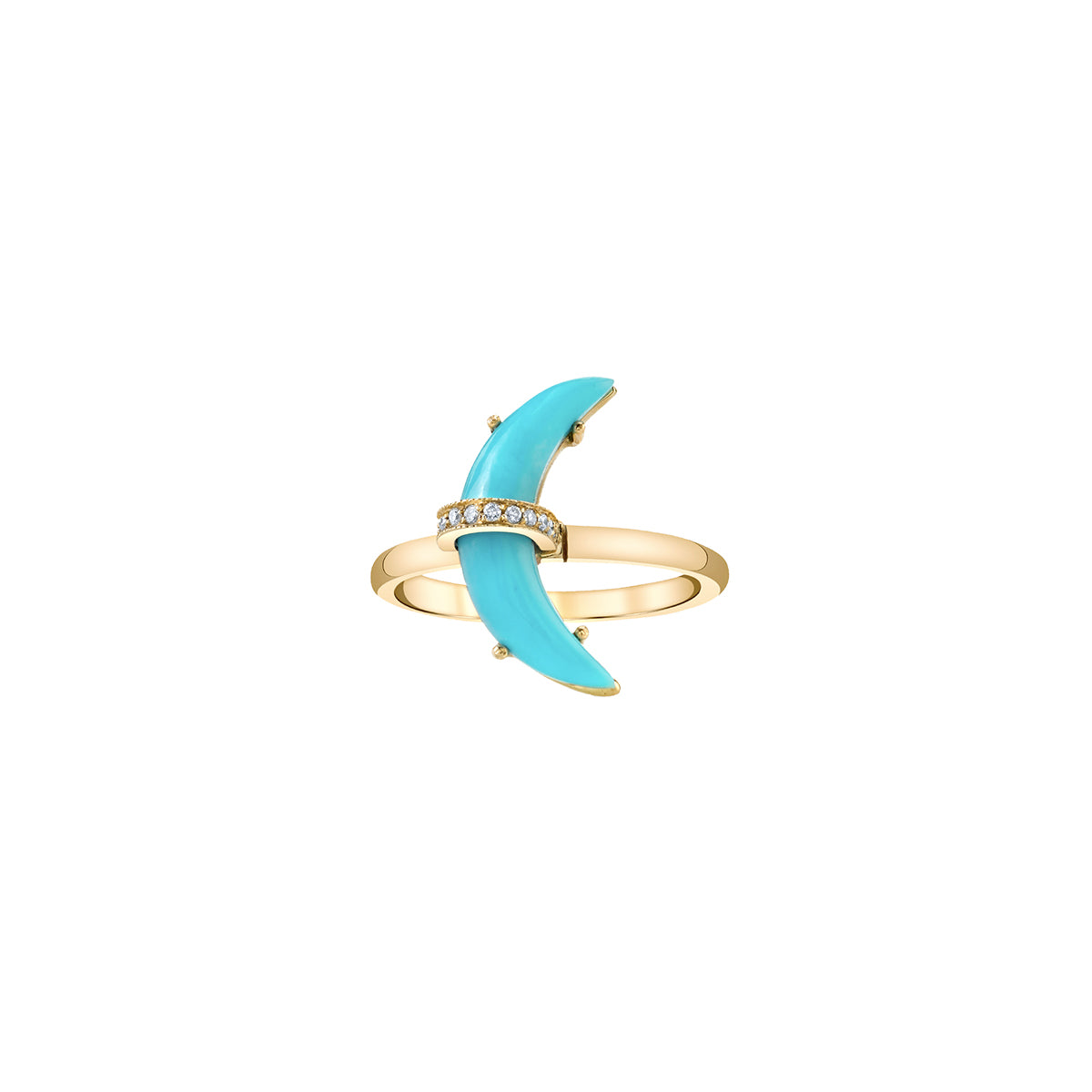 Small Turquoise Astrid Ring