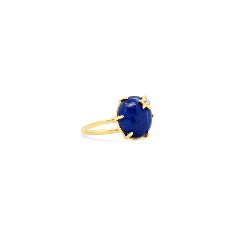 Mini Galaxy Lapis Ring