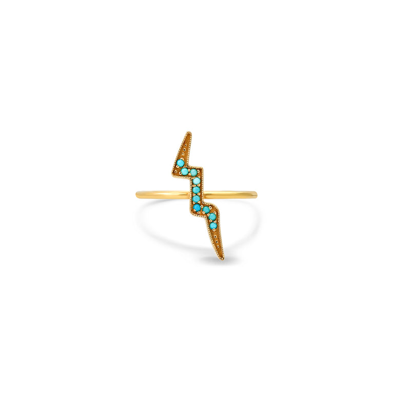 Turquoise Bolt Ring