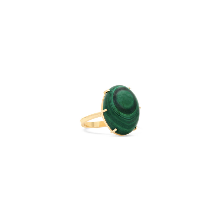 One of a Kind Malachite Ring