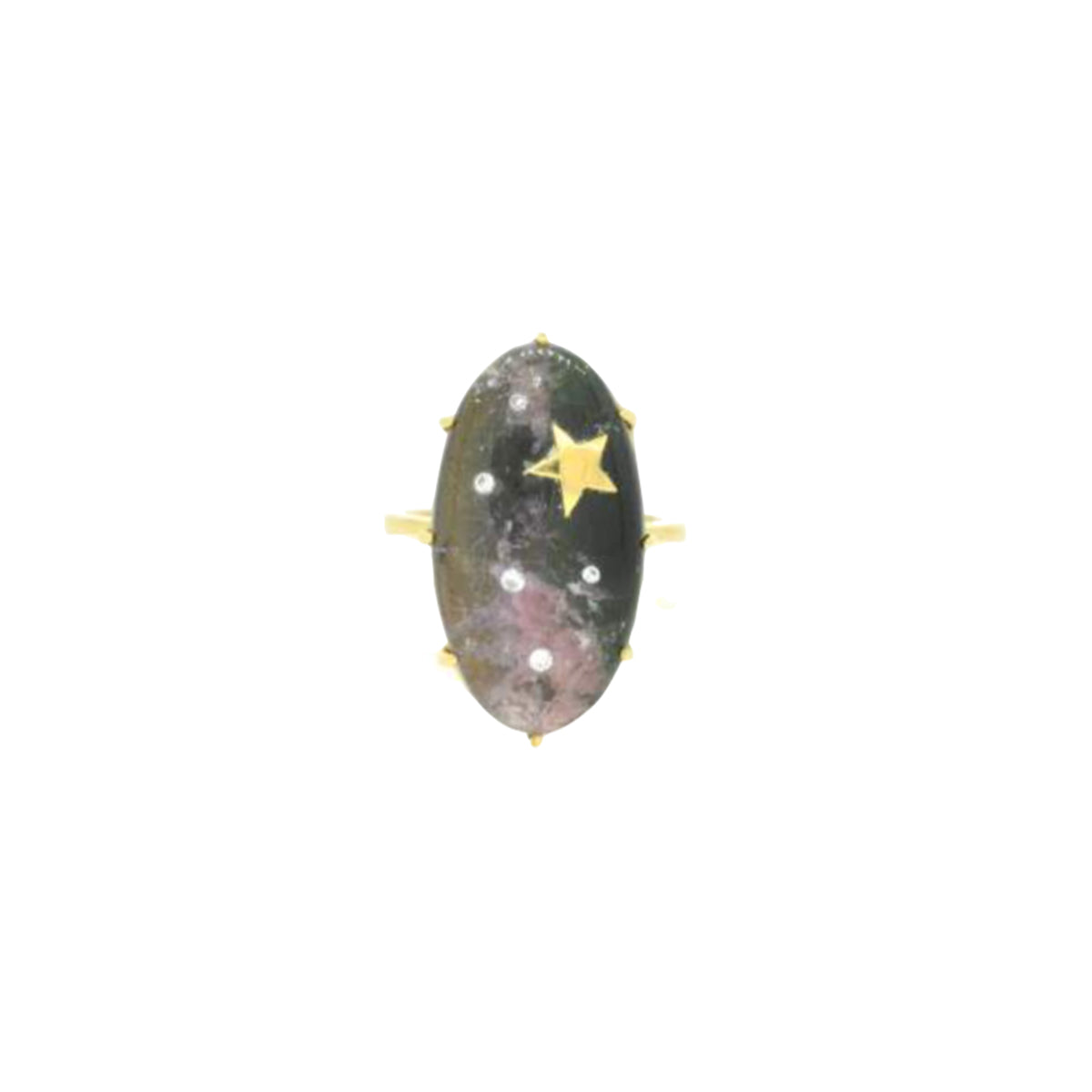 One Of A Kind Tourmaline Mozambique Ring