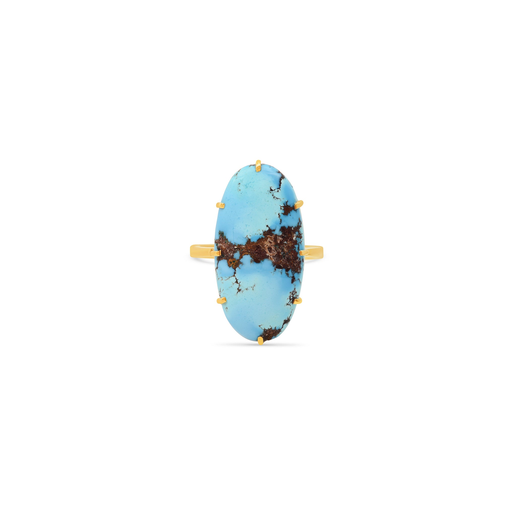 One of a Kind Natural Turquoise Ring