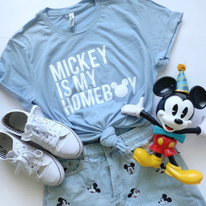Mickey is my Homeboy - Blue