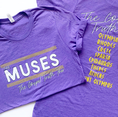 The Muses Concert Tee
