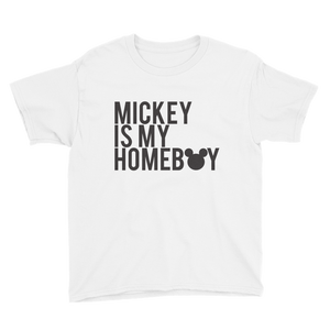 Kids Mickey is my Homeboy - WHITE
