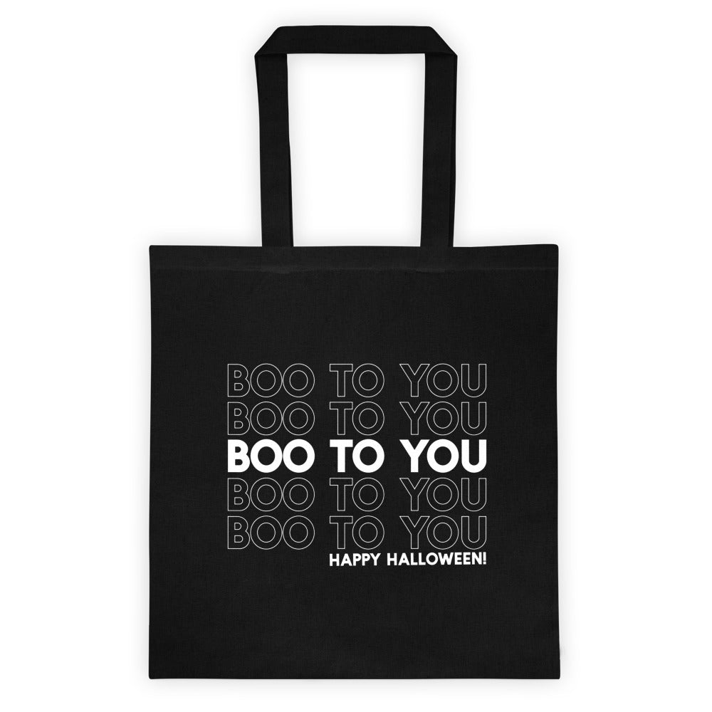 Boo to You Glow in the Dark Tote bag