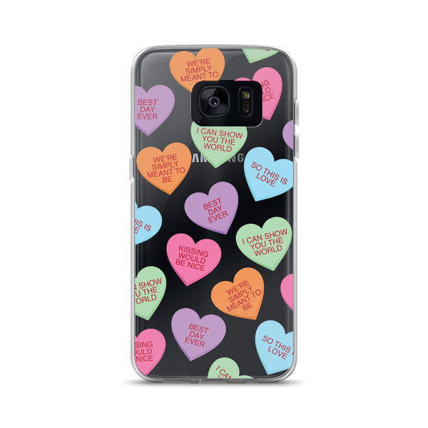 Candy Hearts Galaxy Case