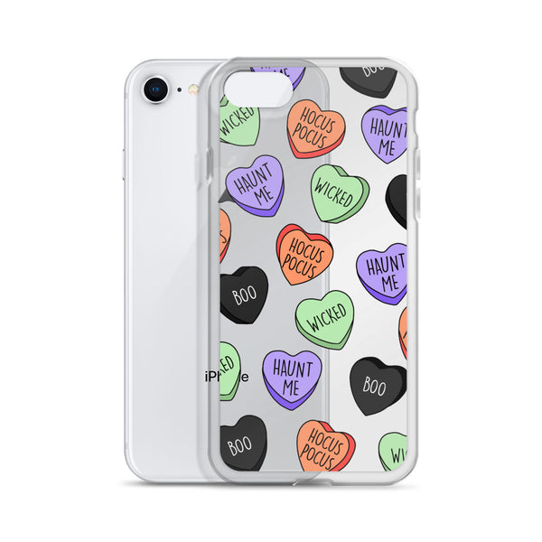 Halloween Hearts iPhone Case