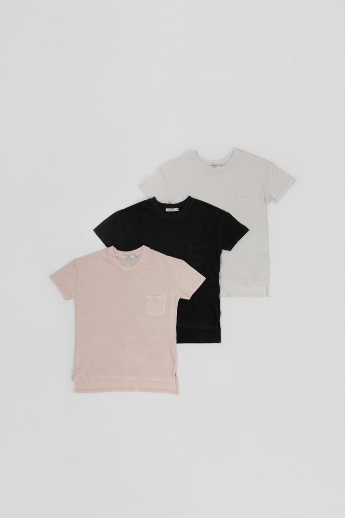 Woman Basic Color Tee - 3 Pack
