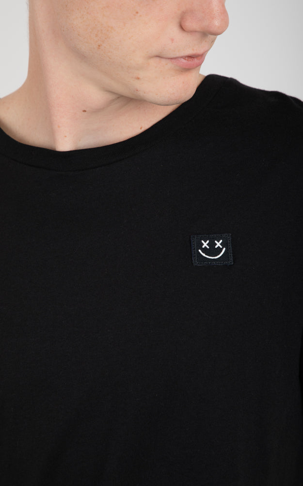 Smiley Face Black