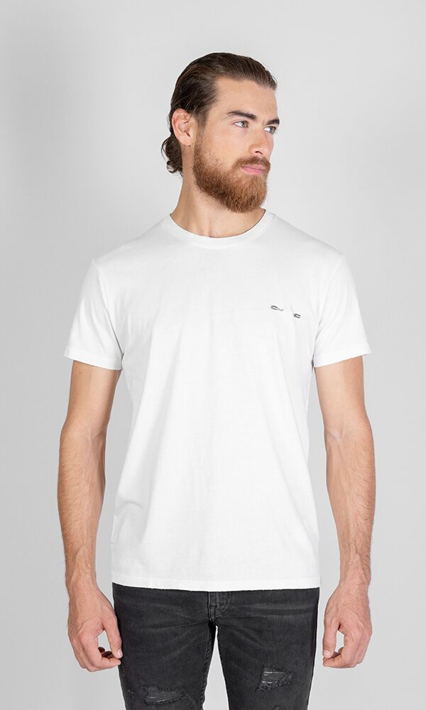 Piercing T Shirt White
