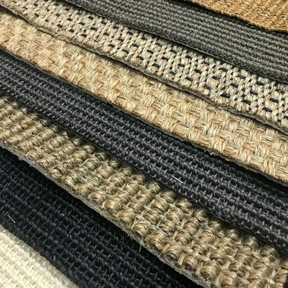 DIY SISAL REMNANTS - RANDOM/NEUTRAL COLORS