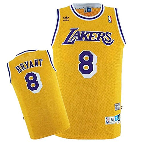 LA Lakers Kobe Bryant #8 Swingman Home Jersey - Gold