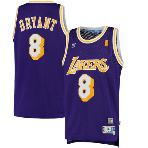 LA Lakers Kobe Bryant #8 Swingman Home Jersey - Purple
