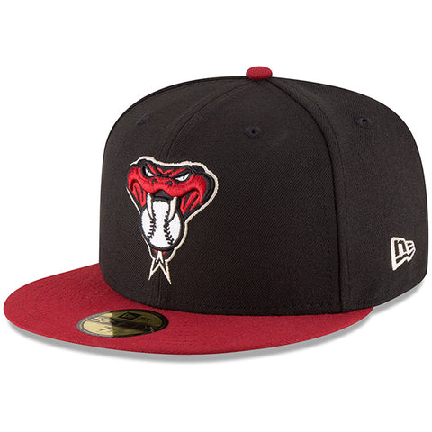 New Era 59fifty MLB On Field Fitted Hat Cap - Arizona Diamondbacks