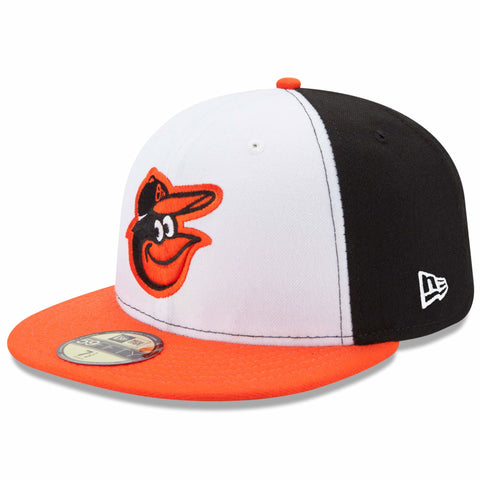 New Era 59fifty MLB On Field Fitted Hat Cap - Baltimore Orioles Home