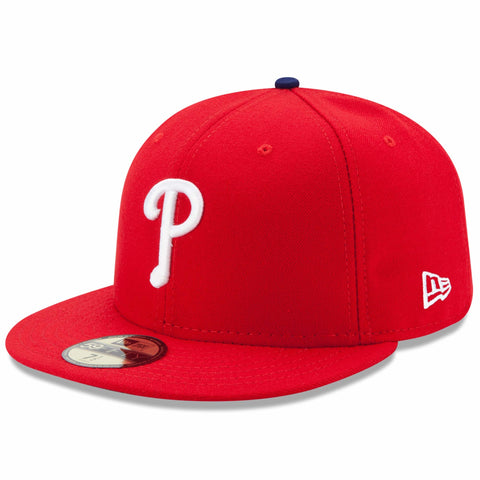 New Era 59fifty MLB On Field Fitted Hat Cap - Philadelphia Phillies